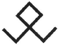 Рис.1 Сокол в элементах орнамента русской народной вышивки
