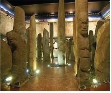 Тотемные колонны в Хакасии